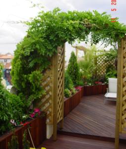 carpinteria para jardines