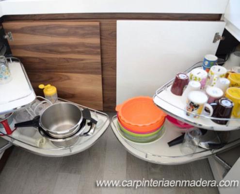 esquineras de las cocinas a medida