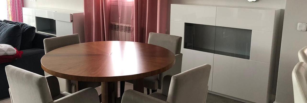 mueble de comedor a medida con mesa