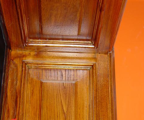 restaración de elementos en madera en el hogar