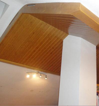 buhardillas de madera con estilo
