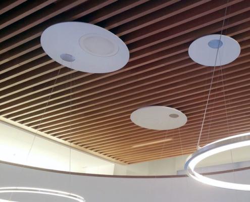 techo en madera a medida para empresa