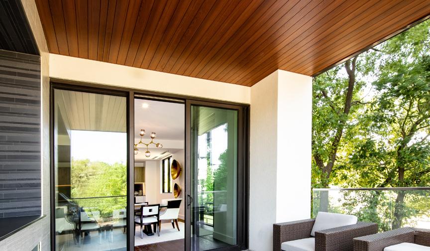 techo de madera para terraza