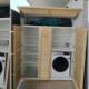 mueble de lavadero a medida