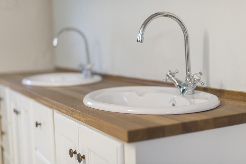 mueble de lavabo a medida natural