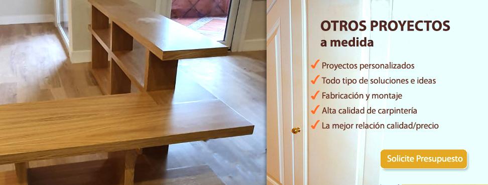 Otros muebles a medida en madera
