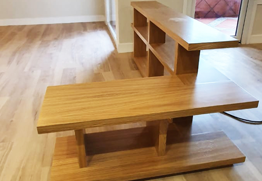 Mueble madera a medida