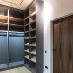 La iluminación en los armarios a medida